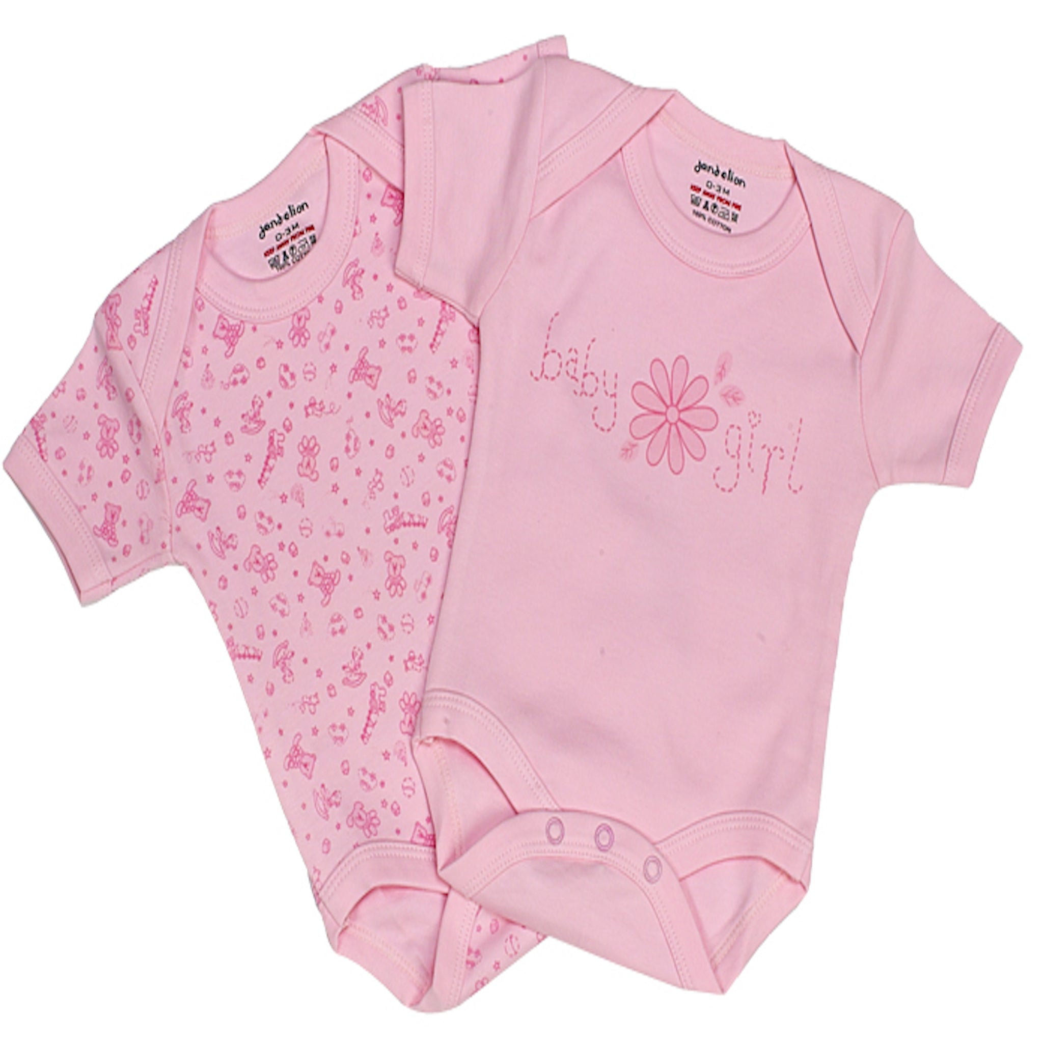 baby girl bodysuits. With new long-sleeve and short-sleeve styles, our soft cotton baby girl bodysuits keep her cute and comfy all season. Plus, with baby girl bodysuit packs, there's always an extra!