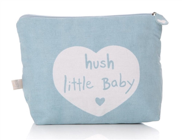 newborn washbag, hush little baby washbag, waterproof washbag
