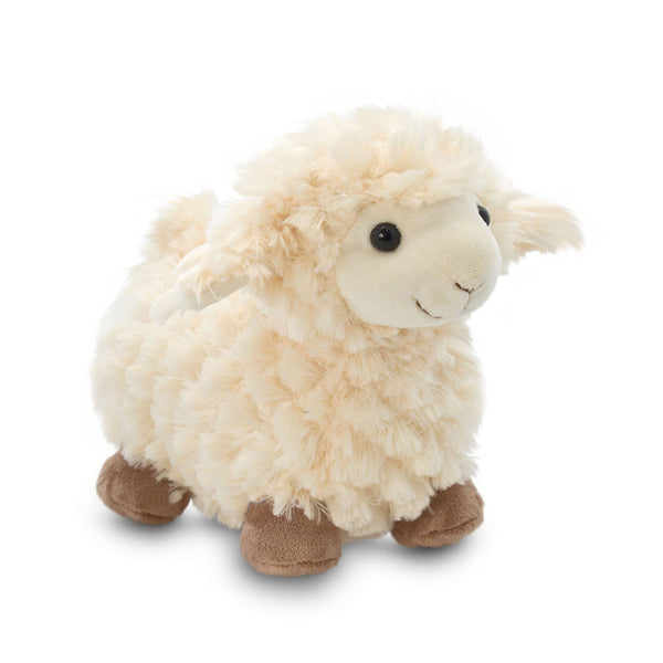 20cm Fluffy Standing Sheep