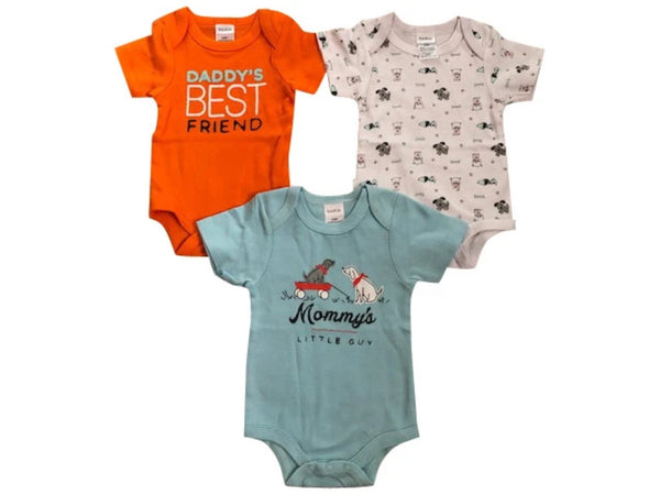 Daddy's Best Friend | Short Sleeve Bodysuit | Set of 3