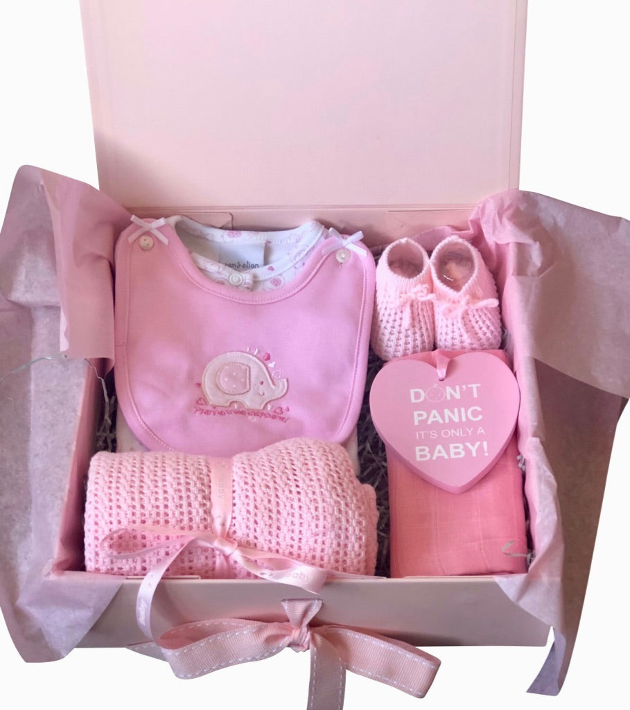 97c745adb2c2a Baby Girl Gift Boxes | Baby Shower Gifts - Mini Me Gift Box Shop