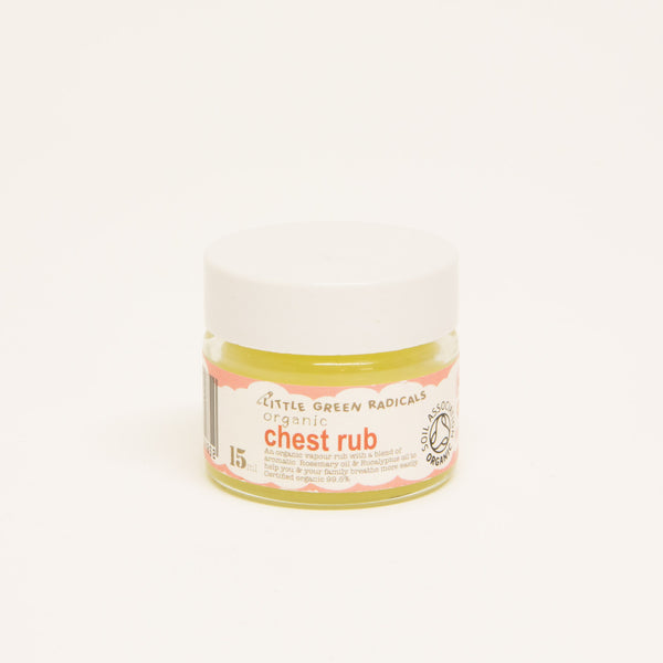 chest rub, all natural ingredients, suitable from birth, vapour rub
