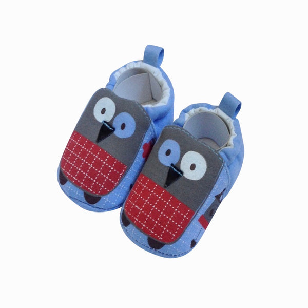 Owl Slip On Shoes Blue | 0 - 12 months