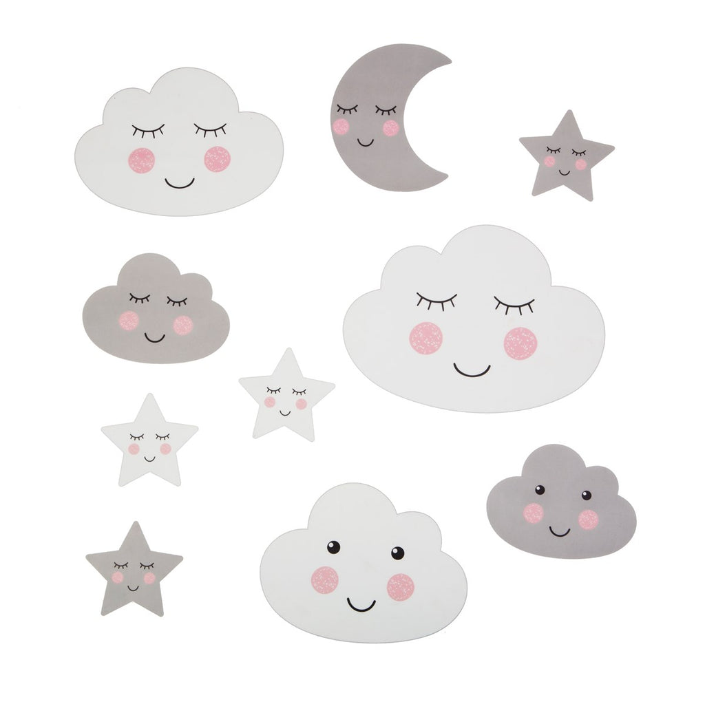 Sweet Dreams Cloud Wall Stickers | Removable Wall Stickers