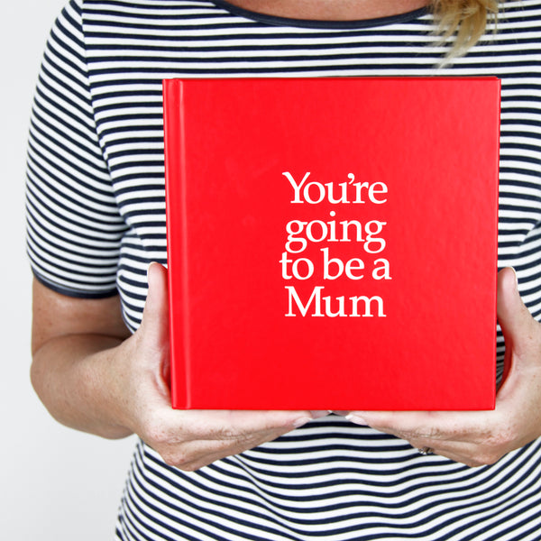 gift for a new mum from baby, hardcover book