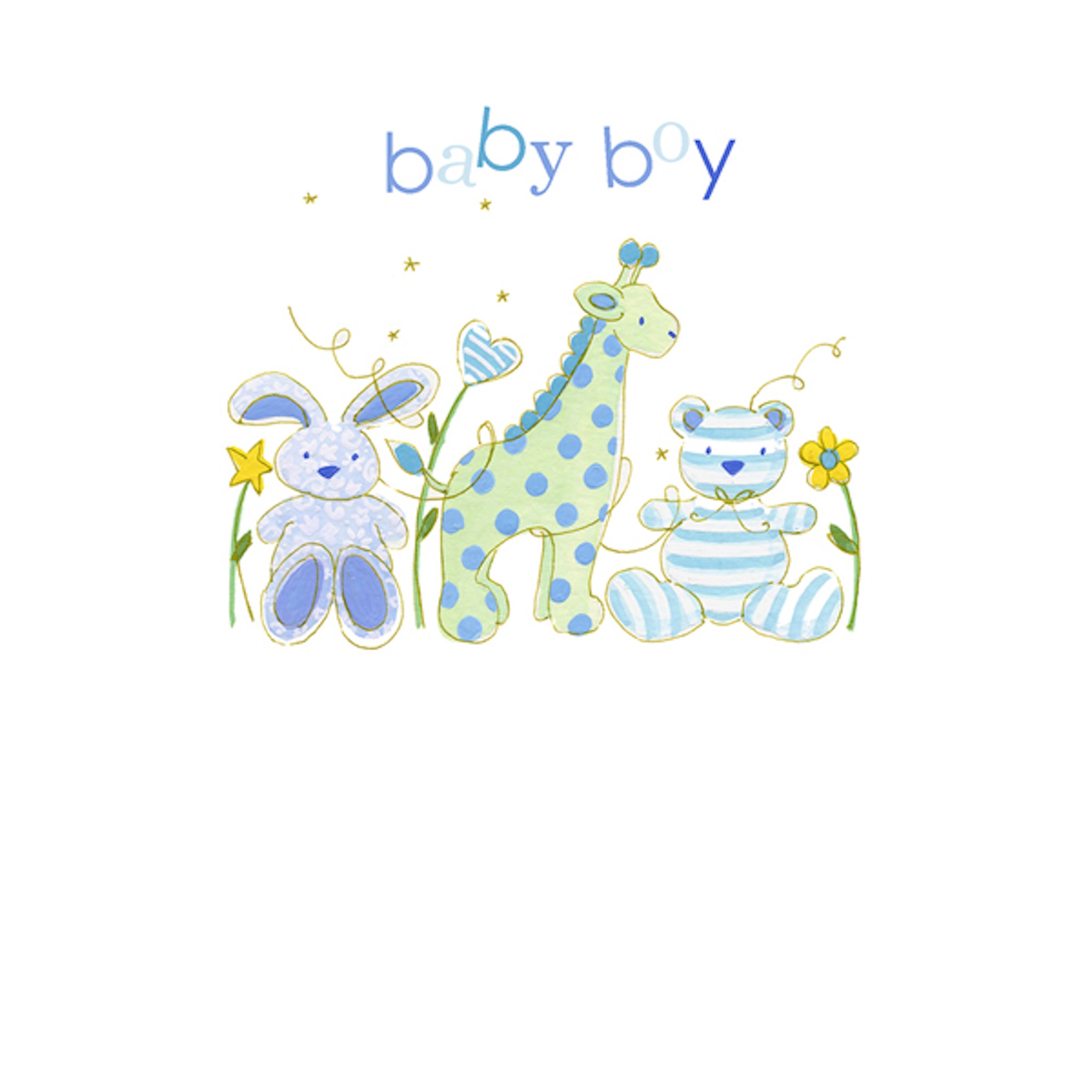 Baby boy greeting card new baby card by hammond gower mini me baby boy greeting card for new baby by hammond gower new baby card m4hsunfo