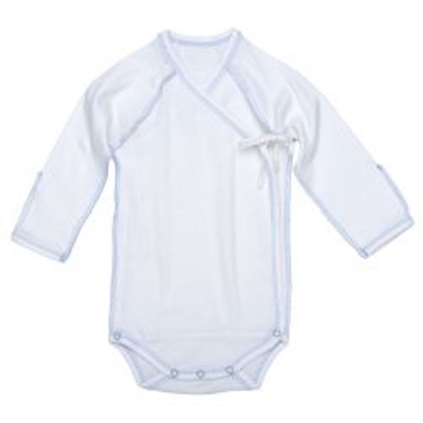 Blue bodysuit, baby boy bodysuit, premature baby boy