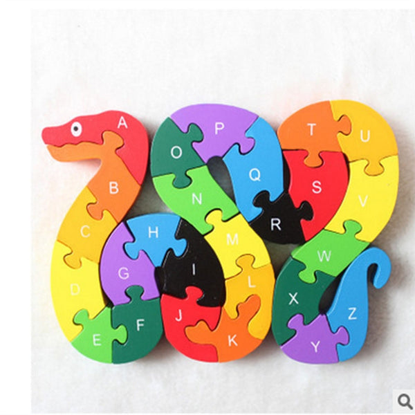A to Z Alphabet Puzzle Toys