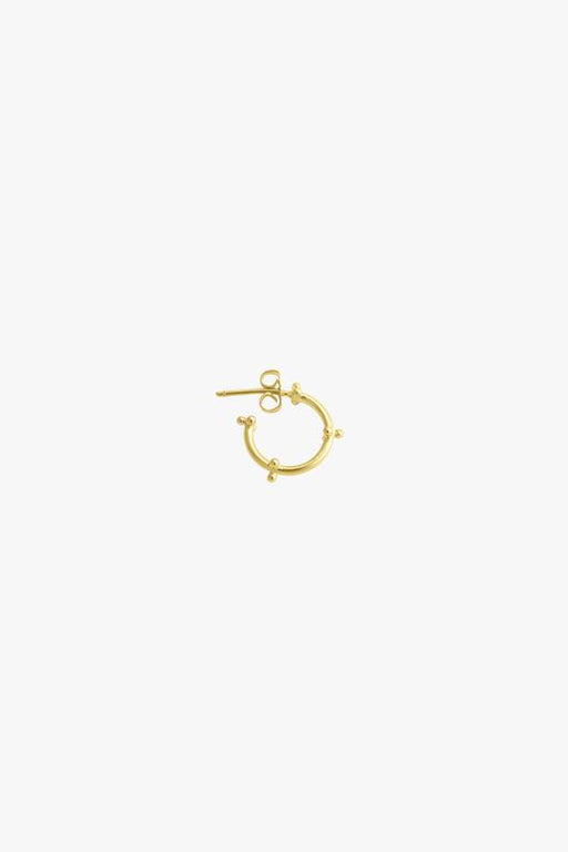 Wildthings Caviar Earring Gold