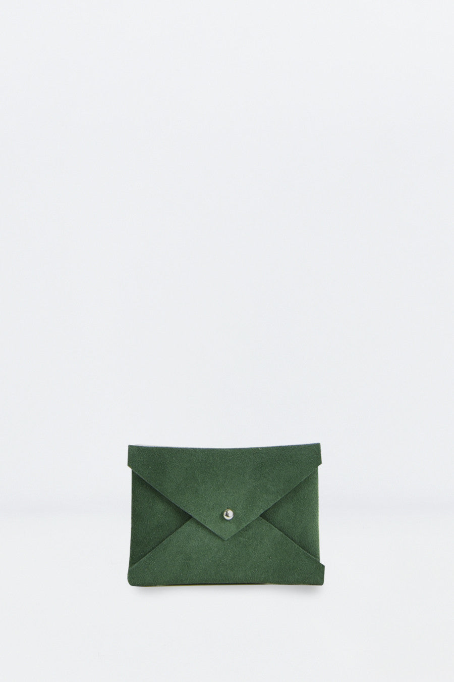 Moss Green Envelope Purse