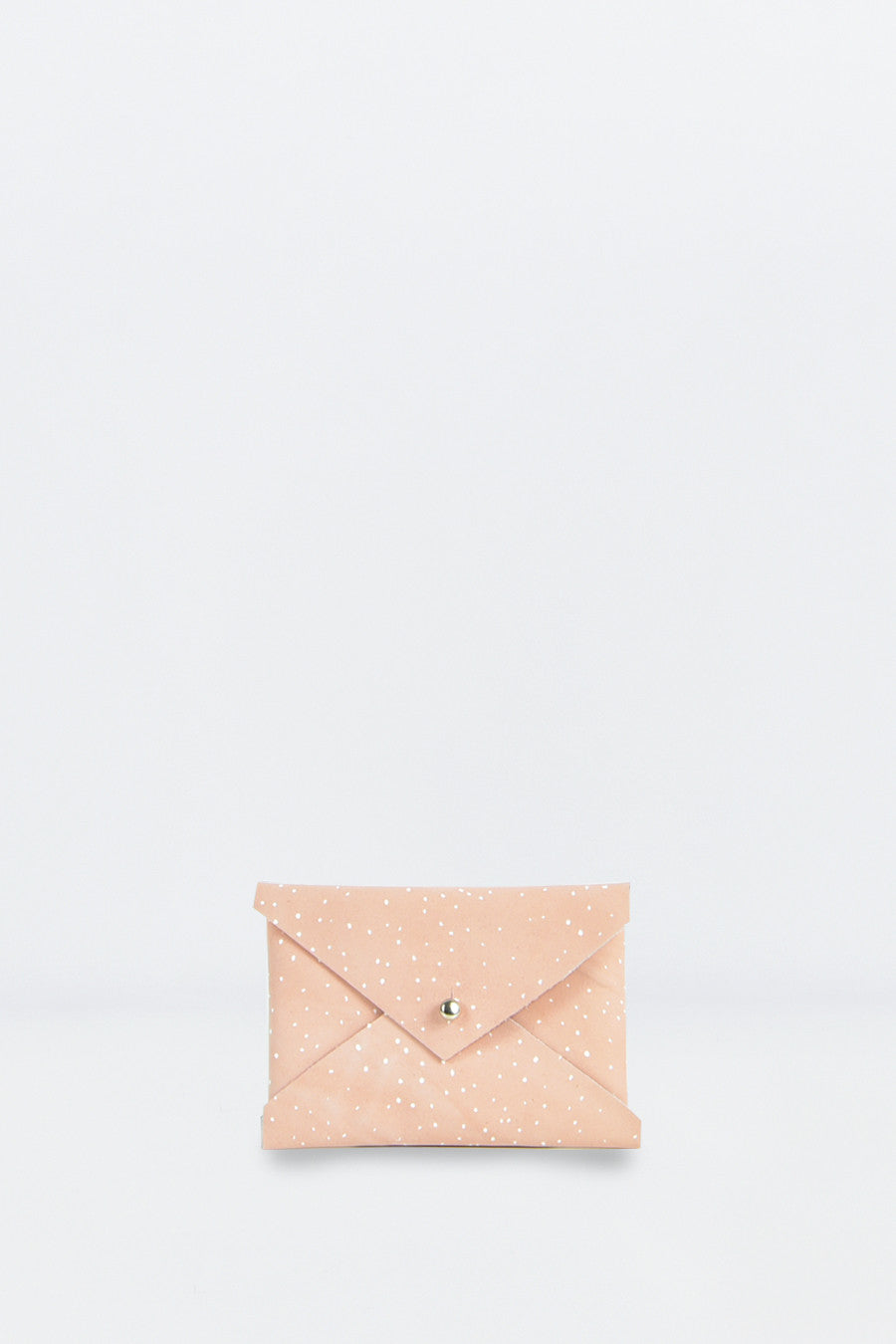 Shell Pink Envelope Purse