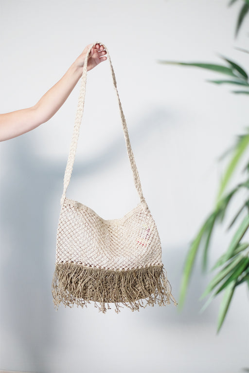 Over the Body Jute Bag