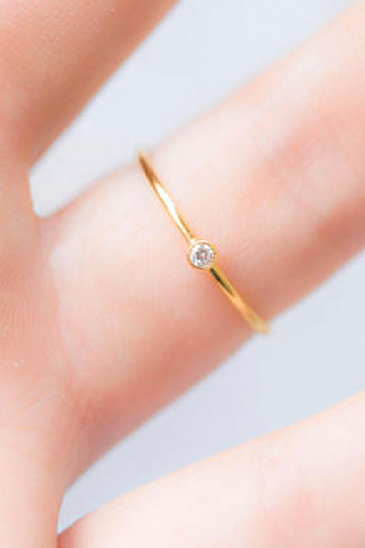 Gold Dainty Ring