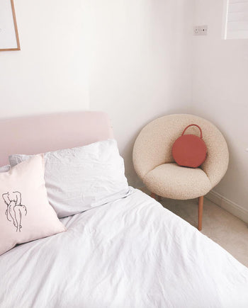Flirty Femme Pink Cushion Cover