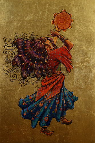 Gipsy Dance By Trifon Markov Original