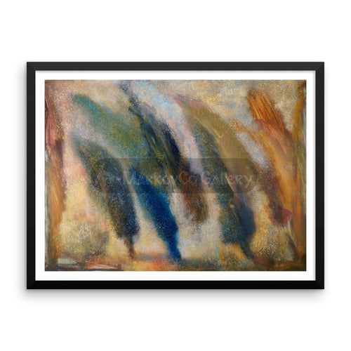 Color Of Wind By Elena Markova 18×24 Framed Poster