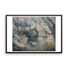 Grasses Stirring In The Breeze By Elena Markova 18×24 Framed Poster