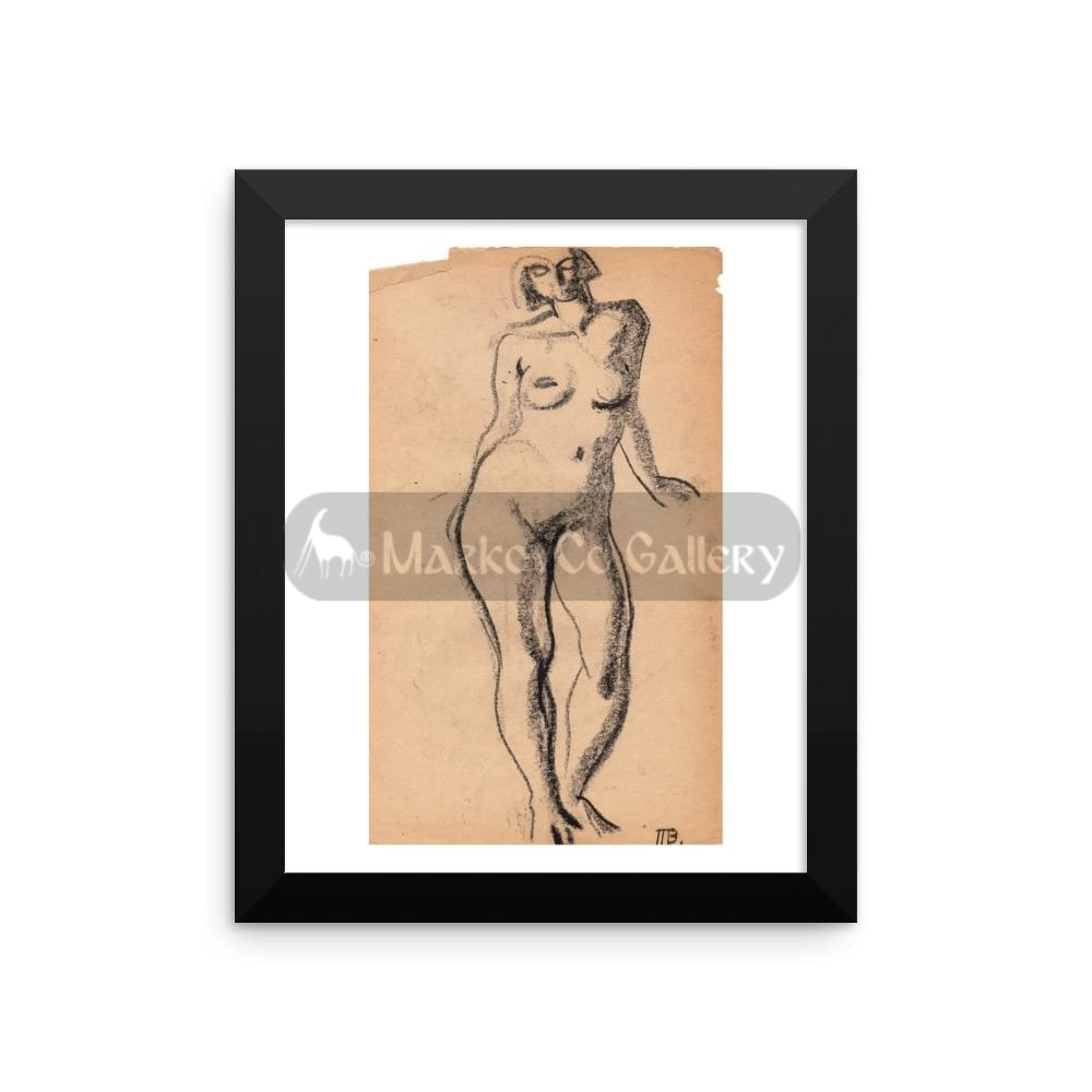 Standing Model By Tatyana Trunova 16×20 Framed Poster