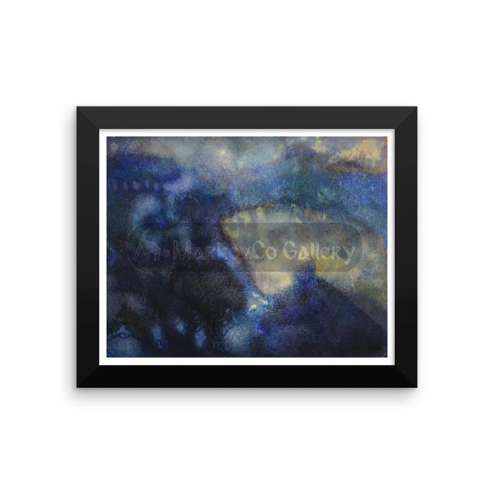 Shadows Of The Night By Elena Markova 18×24 Framed Poster