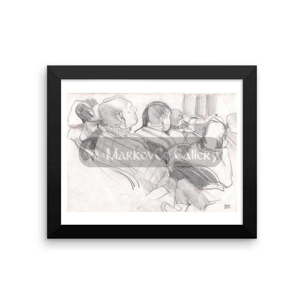 In Theatre By Tatyana Trunova 16×20 Framed Poster