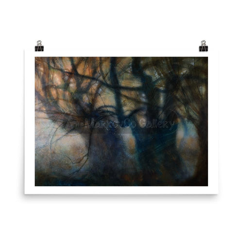 Trees That Make Me Feel By Elena Markova 18×24 Poster