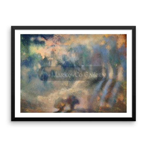Shining Shadows By Elena Markova 18×24 Framed Poster