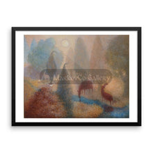 Enchanted Worlds By Elena Markova 18×24 Framed Poster