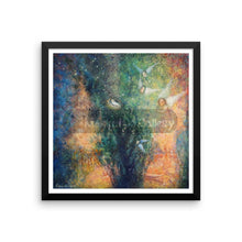 The Deepness Of Emerald By Elena Markova 12×12 Framed Poster
