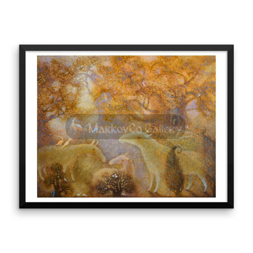 Sence Of Life By Elena Markova 18×24 Framed Poster