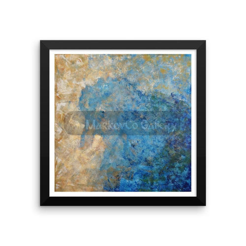 Contemplation Of The Bird By Elena Markova 12×12 Framed Poster