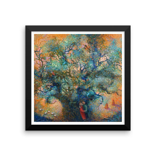 Hidden Treasures By Elena Markova 12×12 Framed Poster