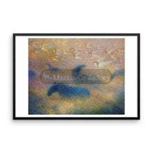 A Quiet Parting Of The Fog By Elena Markova 18×24 Framed Poster