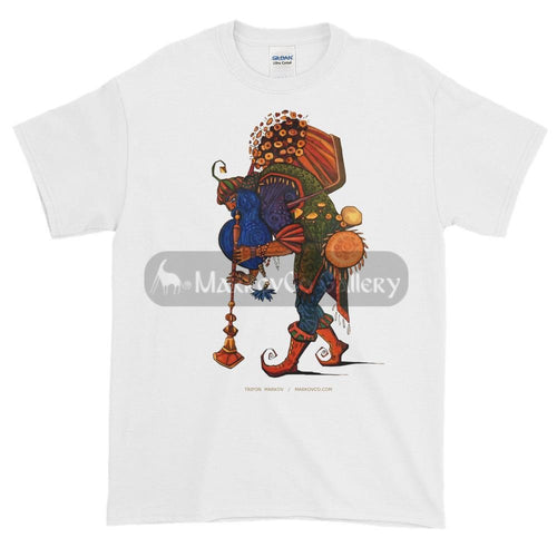 Blue Beard Musician By Trifon Markov S T-Shirt