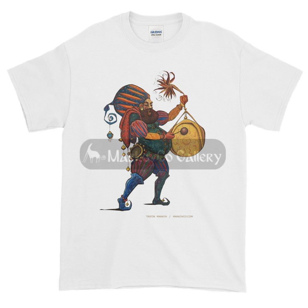 Gong Musician By Trifon Markov S T-Shirt