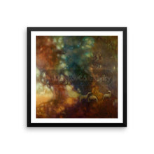 My Sun Behind Your Shadows By Elena Markova 18×18 Framed Poster