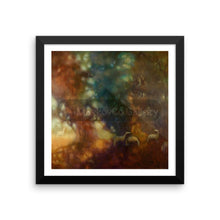 My Sun Behind Your Shadows By Elena Markova 12×12 Framed Poster
