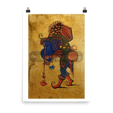 Blue Beard Musician By Trifon Markov 18×24 Poster