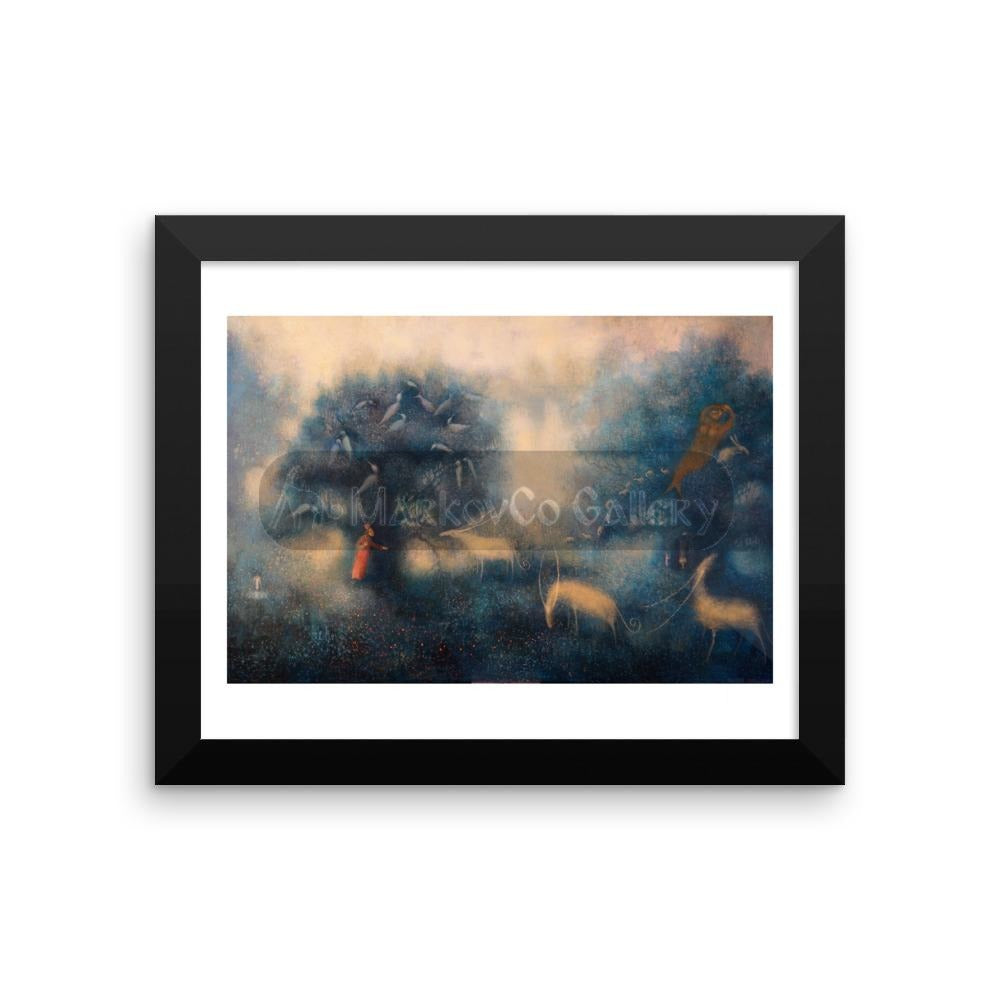 Beginning Of Your Dreams By Elena Markova 18×24 Framed Poster