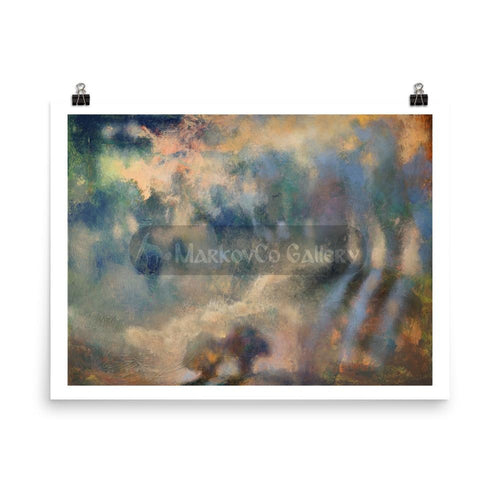 Shining Shadows By Elena Markova 18×24 Poster
