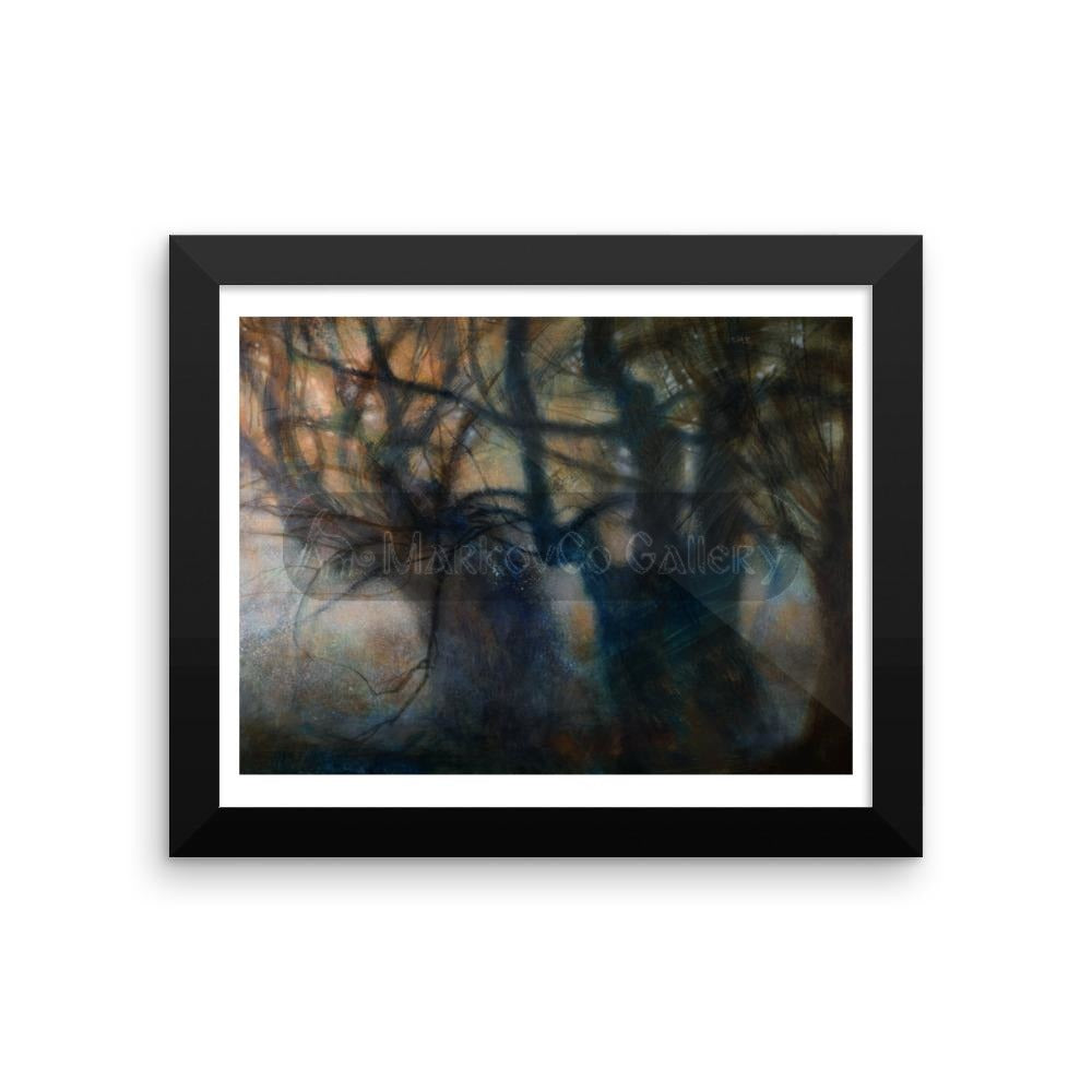 Trees That Make Me Feel By Elena Markova 18×24 Framed Poster