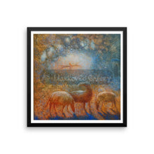 Midst Of The Dreams By Elena Markova 14×14 Framed Poster