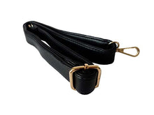 A-SHU BLACK MULTI-COMPARTMENT TASSEL HANDBAG WITH LONG SHOULDER STRAP - A-SHU.CO.UK