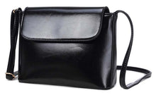 A-SHU BLACK PLAIN SATCHEL STYLE FAUX LEATHER CROSS BODY SHOULDER BAG - A-SHU.CO.UK