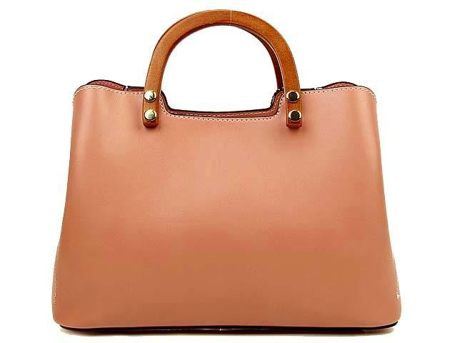 A-SHU BLUSH PINK MULTI-COMPARTMENT HOLDALL HANDBAG WITH LONG STRAP - A-SHU.CO.UK