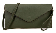 A-SHU DARK GREY OVER-SIZED ENVELOPE CLUTCH BAG WITH LONG CROSS BODY AND WRISTLET STRAPS - A-SHU.CO.UK