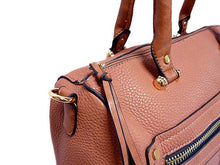 A-SHU DESIGNER STYLE BLUSH PINK BOWLER STYLE HANDBAG WITH TASSEL DESIGN - A-SHU.CO.UK