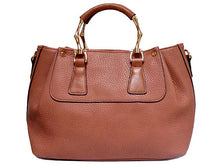 ORDER BY REQUEST - DESIGNER STYLE LEATHER EFFECT HOLDALL HANDBAG WITH LONG STRAP - BLUSH PINK