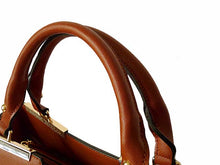 A-SHU DESIGNER STYLE LIGHTWEIGHT BROWN MULTI-COMPARTMENT HOLDALL HANDBAG WITH LONG STRAP - A-SHU.CO.UK