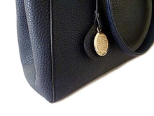 A-SHU DESIGNER STYLE NAVY BLUE MULTI-COMPARTMENT CHAIN HANDBAG WITH STRAP - A-SHU.CO.UK