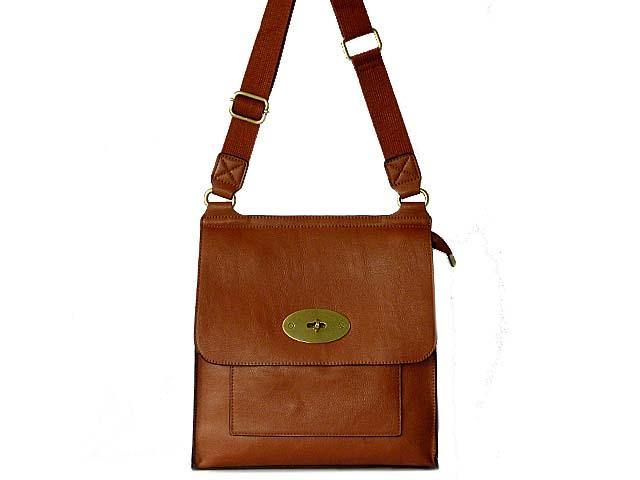 A-SHU DESIGNER STYLE TAN LEATHER EFFECT MULTI-POCKET CROSS-BODY HANDBAG - A-SHU.CO.UK